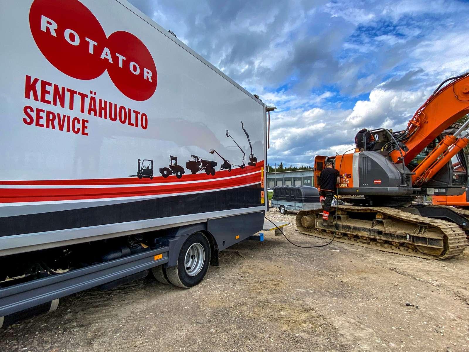 Rotator Oy kenttähuolto