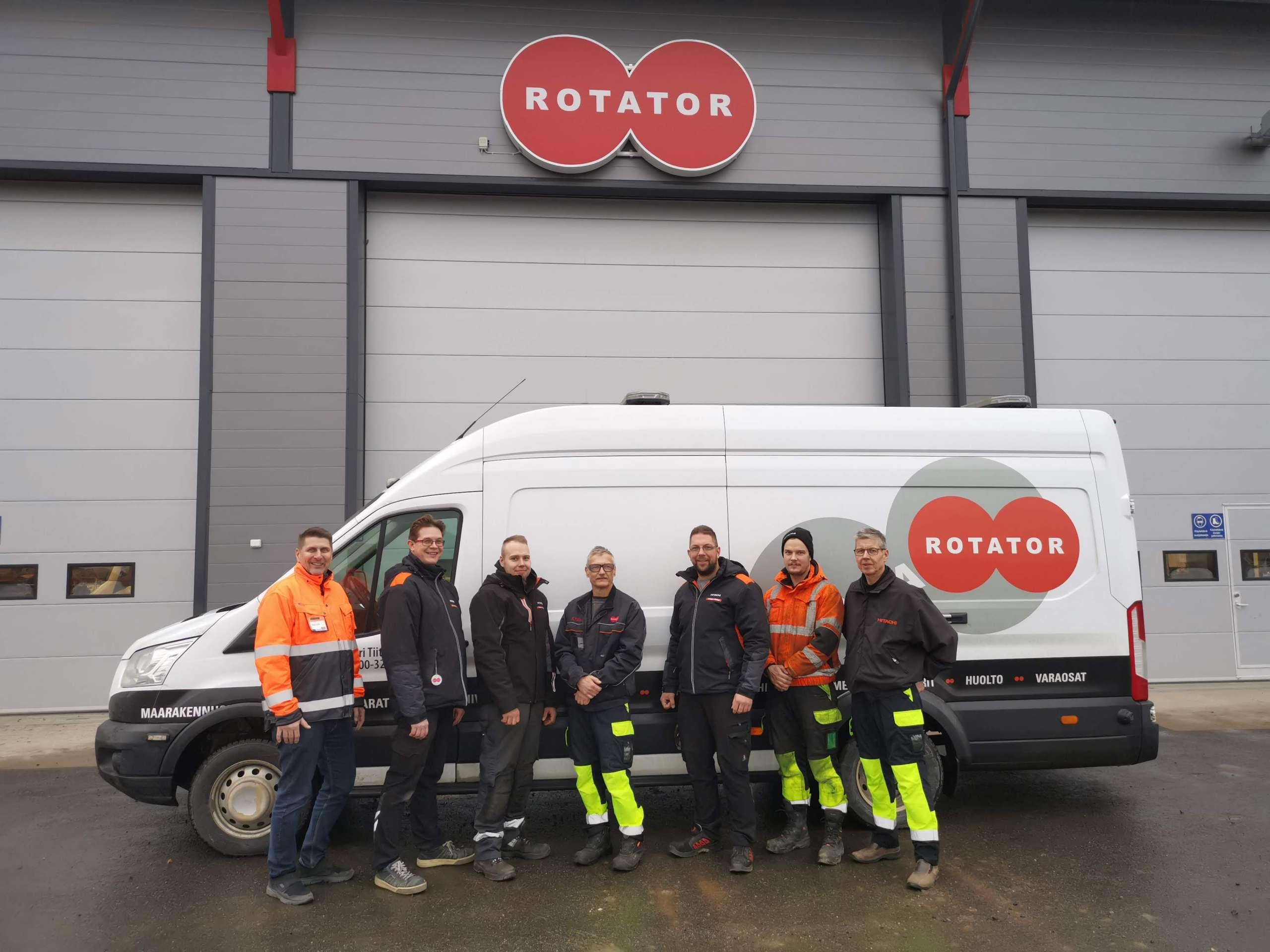 Rotator Lieto henkilökunta